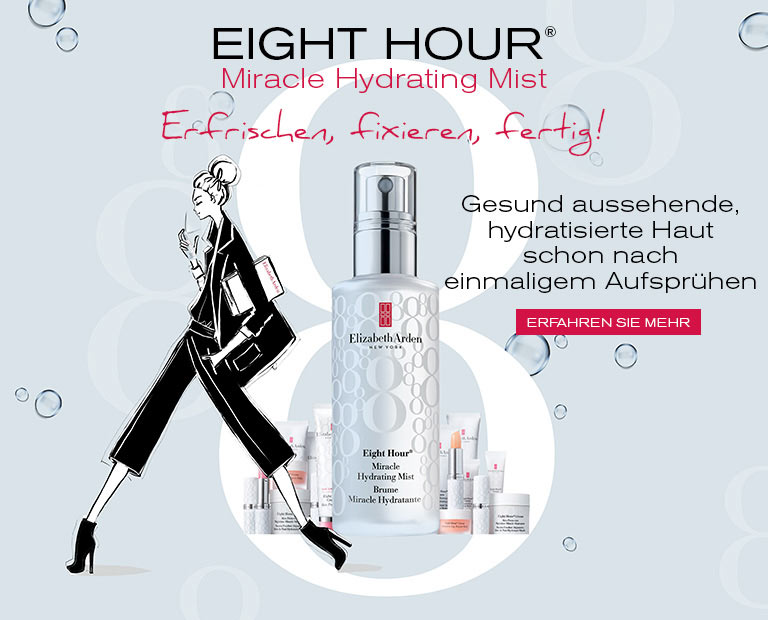 Eight Hour Cream Miracle Hydrating Mist - Elizabeth Arden Österreich Hautpfleg