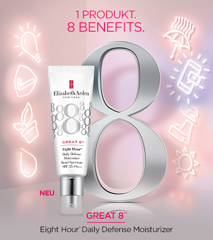 Great 8 Eight Hour Daily Defense Moisturizer SPF 35 - Elizabeth Arden Österreich Hautpflege